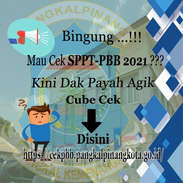 Pengecekan SPPT-PBB 2021